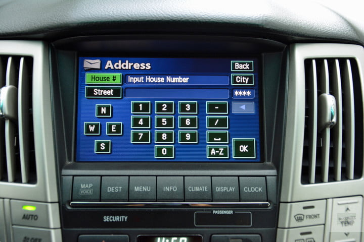 the evolution of car infotainment systems dt first gen lexus rx system 5