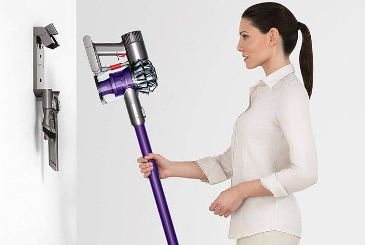 amazon dyson vacuum and air purifier easter week sales v6 animal cordless stick cleaner purple 05