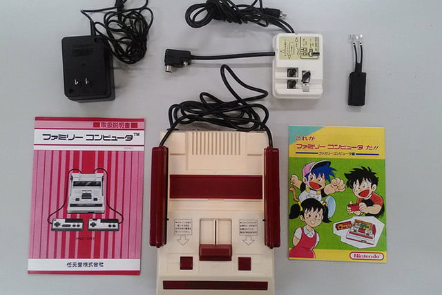 nintendo kyoto hq hardware collection famicom components
