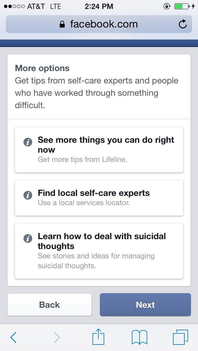 Facebook is Trying to Reduce Suicides on its Network