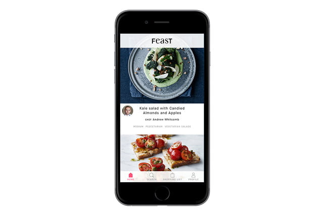 feast kitchen app feat iphone