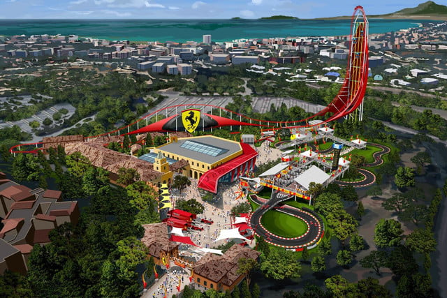 move euro disney ferrari land coming spain 2016 3