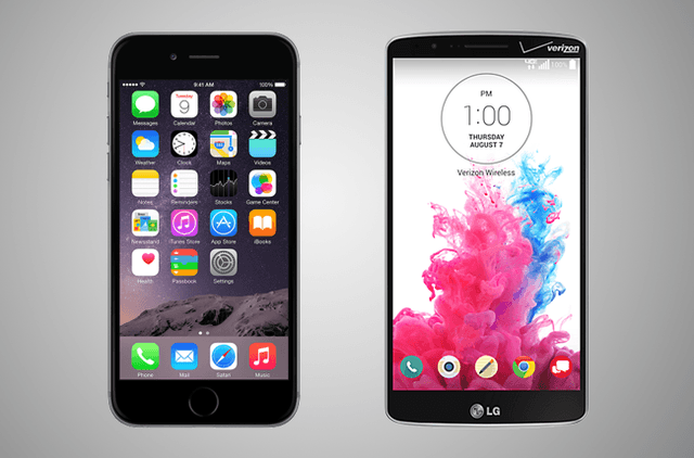 iphone 6 vs lg g3