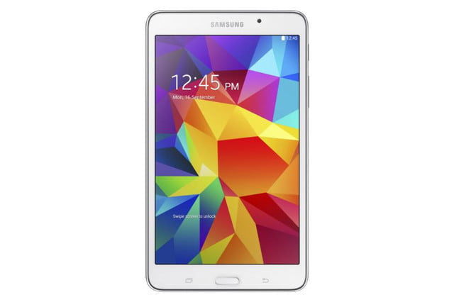 Galaxy Tab4 7 white front
