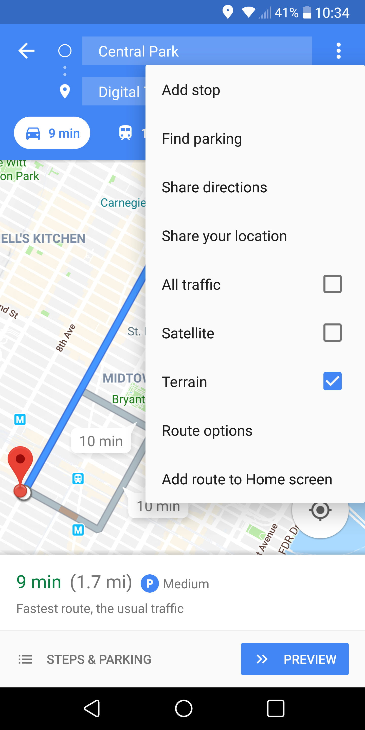 How to Use Google Maps | Digital Trends Directions Using Google Maps on