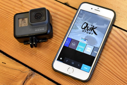 GoPro Quik Can Create Videos from Hero5 Cameras With No
