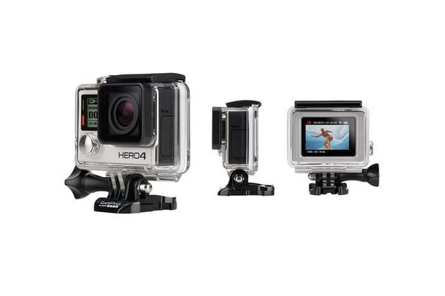 gopro refresh will bring touchscreens better 4k recording hero4 silver