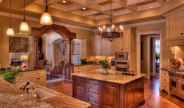 houses with amazing indoor slides greenville estate kitchen