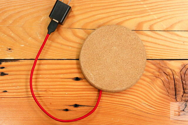 Grovemade Wireless Charging Pad Review wall plug