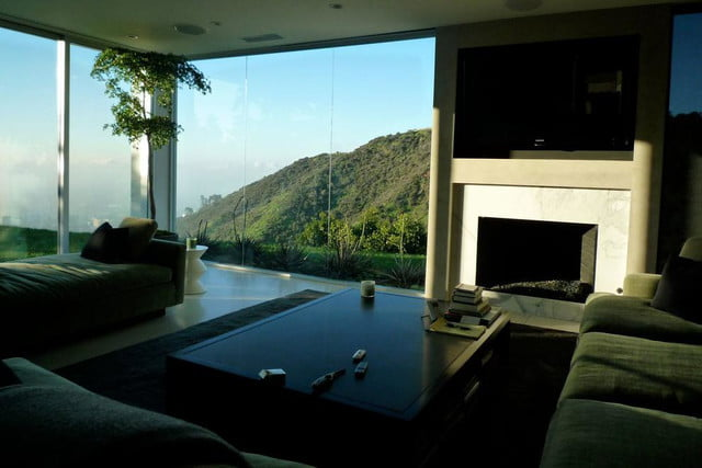 homes with their own shark tanks hollywood hills sharks 6