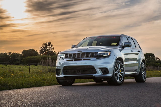 hennessey hpe1200 jeep grand cherokee trackhawk quarter mile world record qt 2 min 1