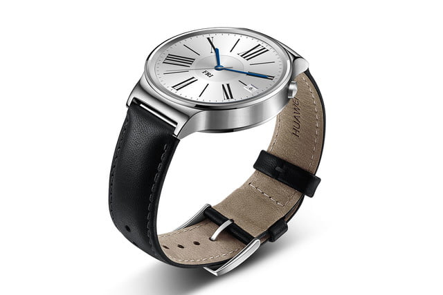 huawei watch news stainless leather left angle 2