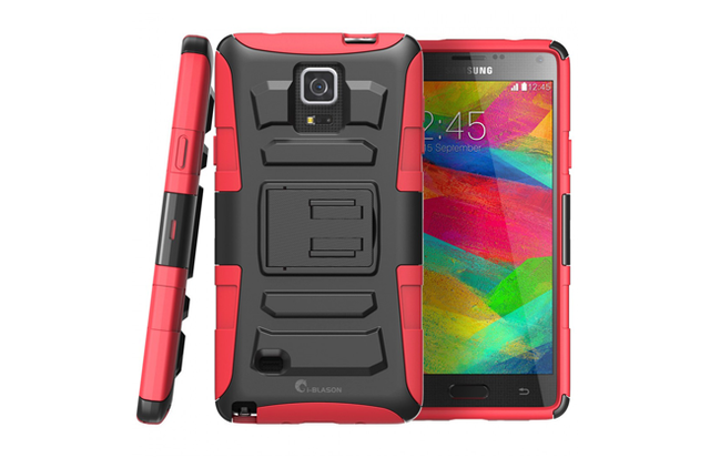 best galaxy note 4 cases i blason holster case screen 650x429