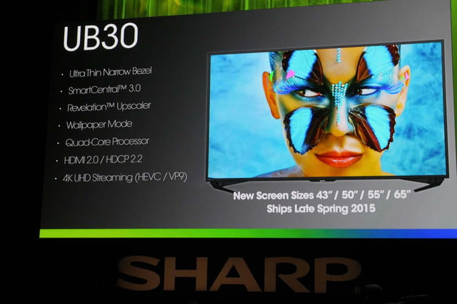 Sharp unveils four new 4K UHD series at CES 2015 | Digital
