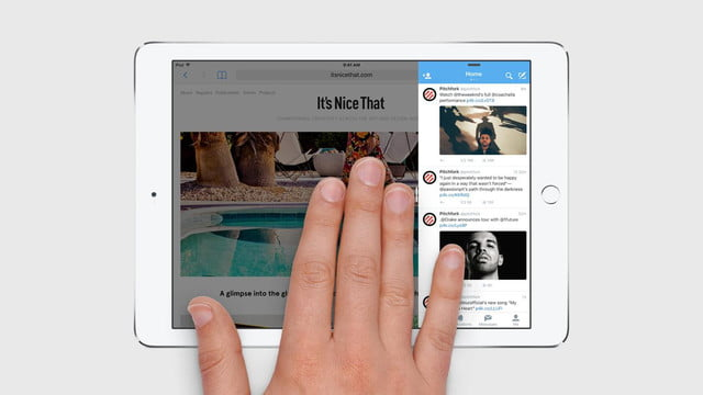 does ios 9 finally make the ipad a worthy laptop replacement multitasking slide over