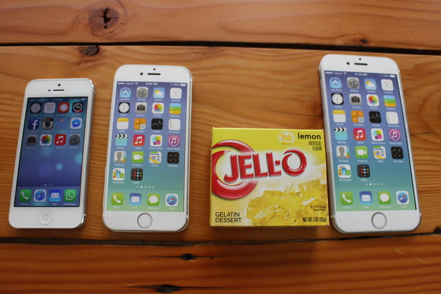 iphone 6 plus size comparison jello