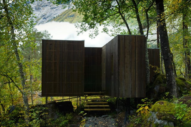 retreat from society and relax in these idyllic cabins around the world juvet landscape hotel 6