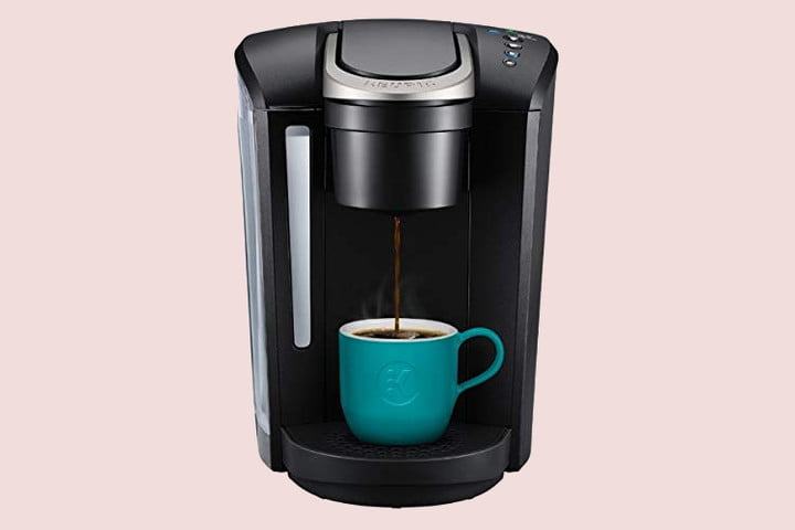 amazon slices prices on keurig k cup coffee makers for labor day select single serve pod maker  with strength control and hot