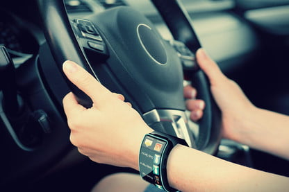 iWatch? No thanks  A smartwatch catered to your car could be