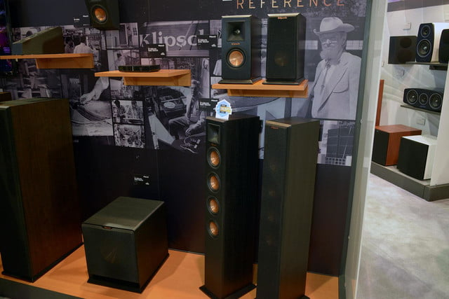 klipsch shows reference premiere wireless home theater system 6796