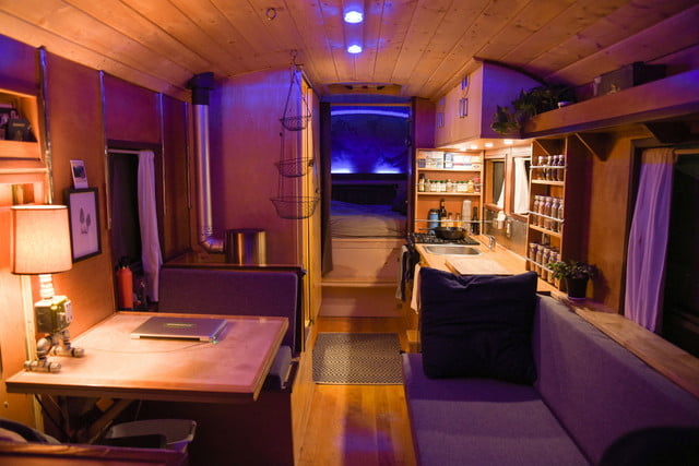 coolest bus to mobile home conversions kylevolkmaninside