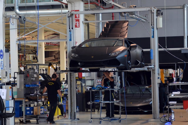 lamborghini factory tour pictures production process 0138b