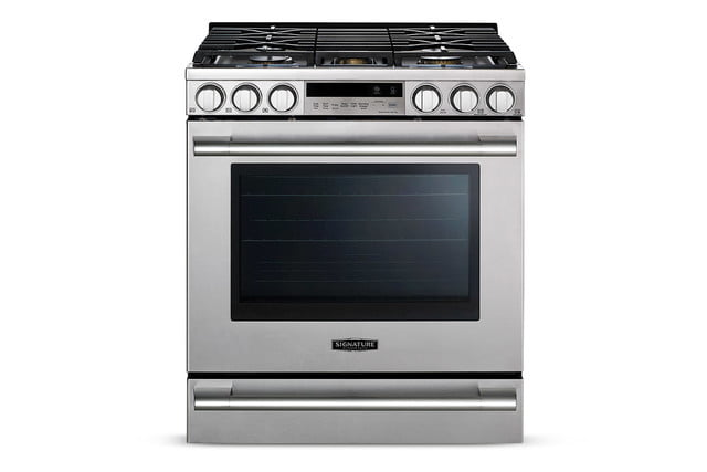 signature is a luxury smart appliance brand from lg kitchen suite gas range