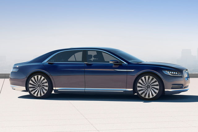 top 5 concept cars of 2015 opinion pictures specs lincolncontinentalconcept 02 profile