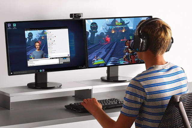 Logitech Launches C922 Pro Webcam Designed for Gamers