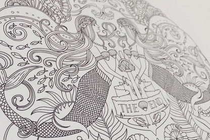 Forget Tech, Pick Up An Adult Coloring Book | Digital Trends
