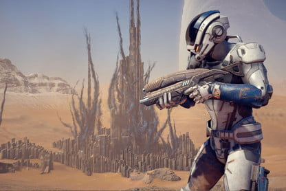 The Best Weapons in 'Mass Effect: Andromeda' | Digital Trends