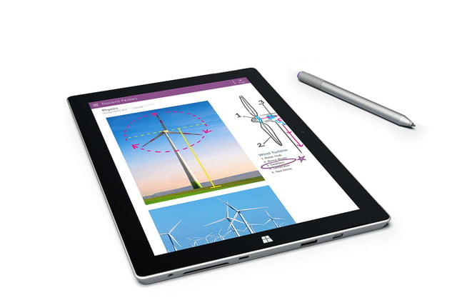 Microsoft Surface 3 silver