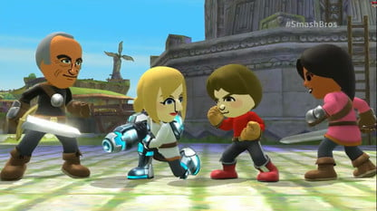 Smash Bros  Wii U to Include Mii Fighters and Amiibos