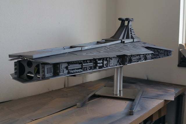 if the force wasnt awake it is now star destroyer pc mod quite a show mod02