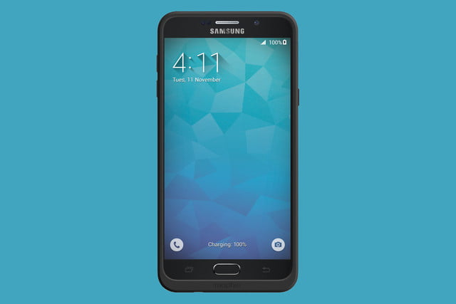 samsung galaxy note 5 mophie juice pack front