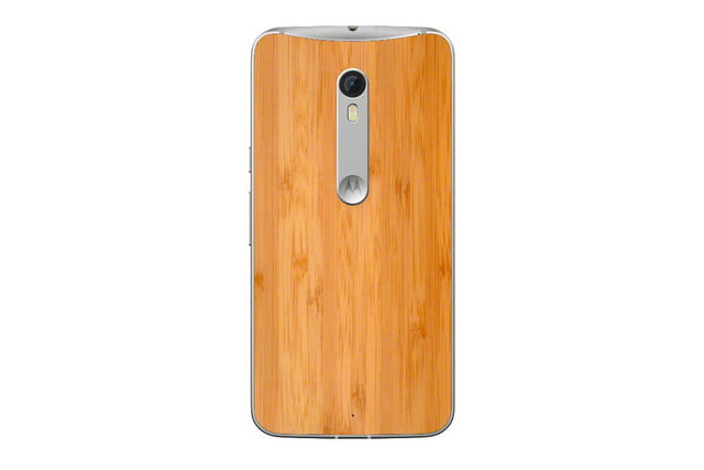 moto x 2015 news style pure edition wood back