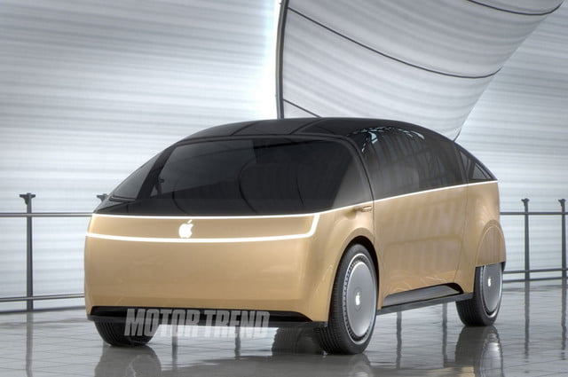 Apple iCar rendering
