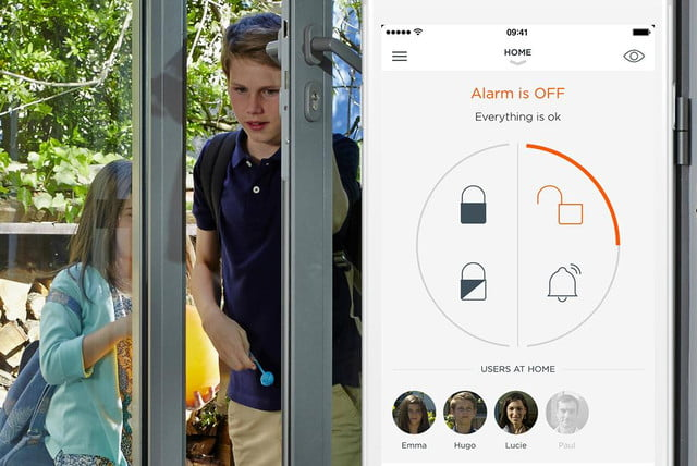 myfox security camera home alarm available in us app
