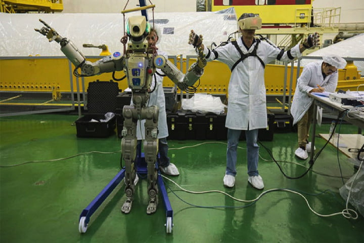 Philisophical Russian-built robot is headed to the International Space Station