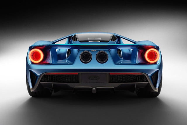 New Ford GT rear