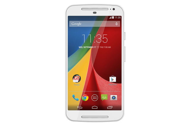 New Moto G front