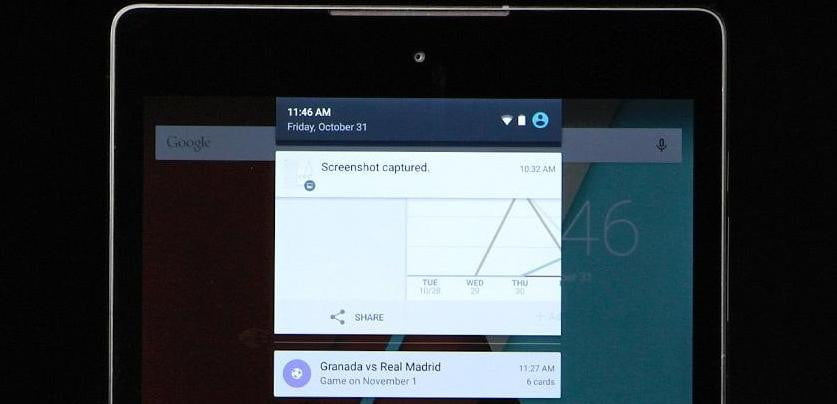 How To Take a Screenshot on a Google Nexus 6, 9, or Other