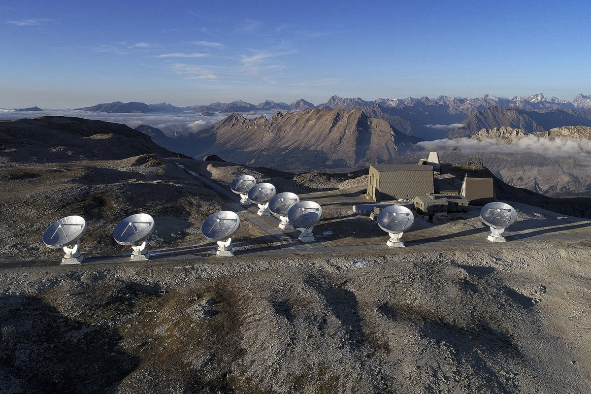 The NOEMA Observatory in the French Alps.