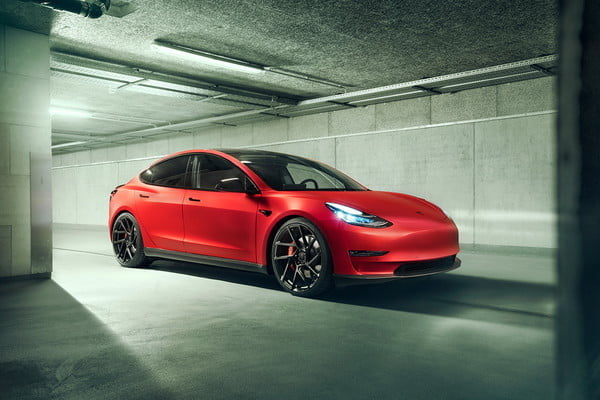 Novitec Announces Suspesnion Tweaks and Body Kit For Tesla Model 3