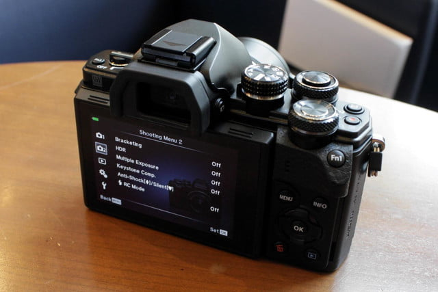 olympus gives entry level om d e m10 mirrorless camera big upgrades e10mkii 24
