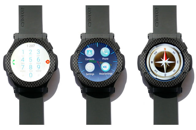 omate rise 3g smartwatch news dialer face