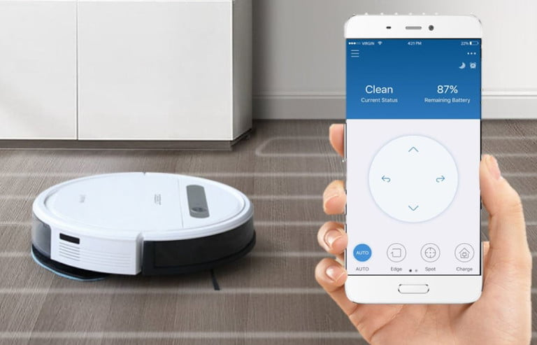 ecovacs deebot ozmo 610 and shark in s87 robot vacs amazon deals