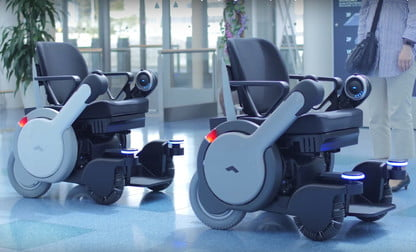 Image result for Self Driving Wheelchair