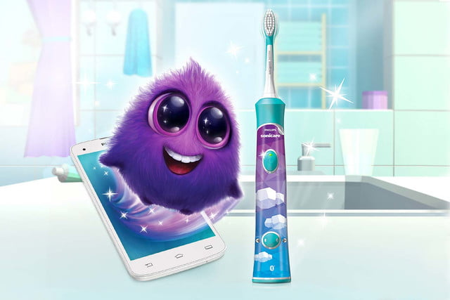 philips sonicare bluetooth toothbrush has a coaching app for kids connected 01