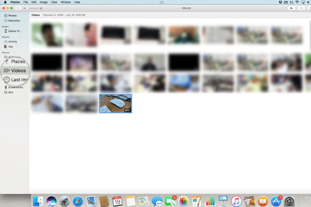 how to import videos from an iPhone to a Mac